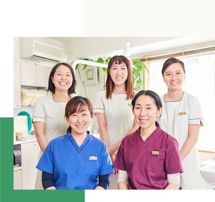 田島歯科クリニックのスタッフ